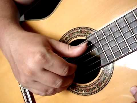 dedilhado no violão