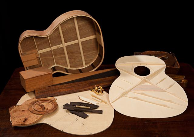 Noções básicas da anatomia do seu violão / guitarra